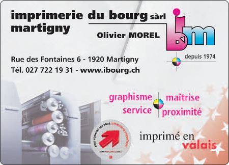 Imprimerie du Bourg Martigny